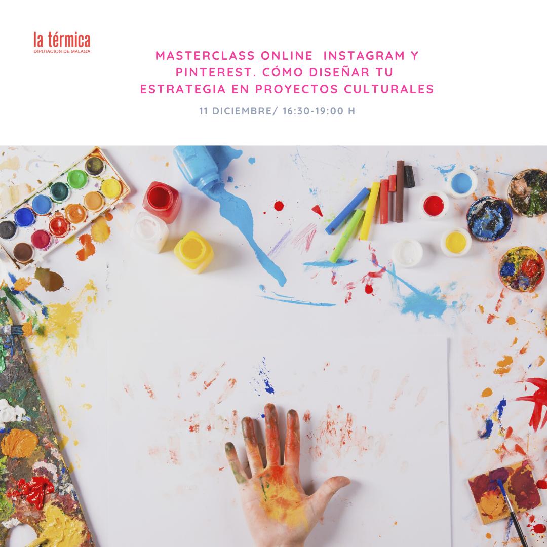 masterclass en instagram y pinterest en proyectos culturales