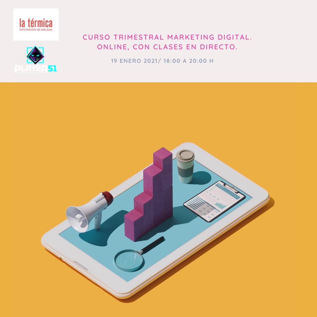 curso marketing digital practico la termica malaga